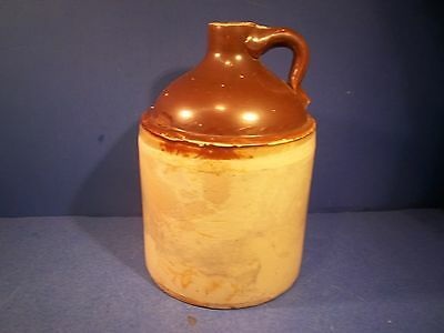 "**Antique / Vintage**  Moonshine Whiskey Jug Stoneware 12"" x 7"""