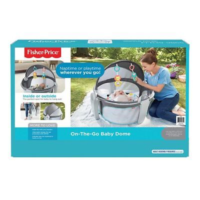 NEW Fisher-Price On-the-Go Baby Dome Helps develop: