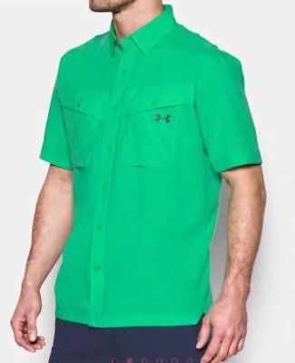 NWT Under Armour Men's Tide Chaser Performance Shirt 1290743 299 Size XL Green