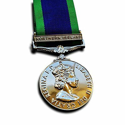 Military Medal The General Service Medal Northern Ireland Medal 1962 Campaign Se