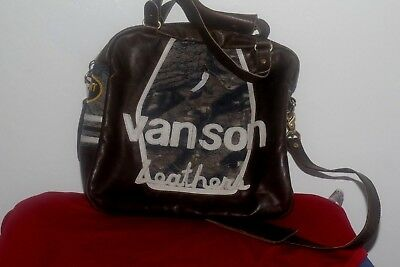 Vintage Vanson Leather Bag made in USA