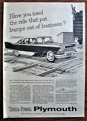 Stunning 1957 Canadian Plymouth Car Newspaper Ad Made In Canada Savoy Railroad