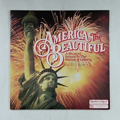 AMERICA THE BEAUTIFUL Salute To Statue Of Liberty RB41112 Dbl LP Vinyl VG++ GF