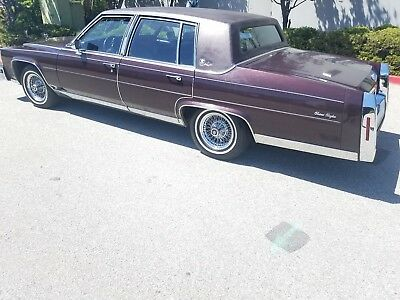 1985 Cadillac Other  1985 Cadillac Fleetwood Brougham d'Elegance only 51 K original miles one owner