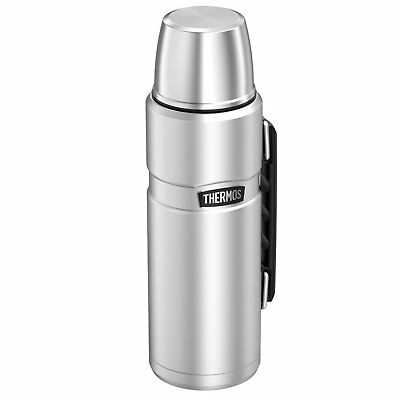 Thermos Stainless  40 Ounce Vacuum Insulated Beverage Bottle Stainless Steel