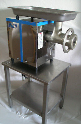 Biro 822 Tabletop Meat Grinder 1Hp / 1Ph 22 Knife/plates / Stainless Steel Table