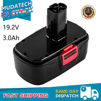 19.2V Replace for Craftsman DieHard Battery 3.0Ah C3 315.115410 315.11485 11375