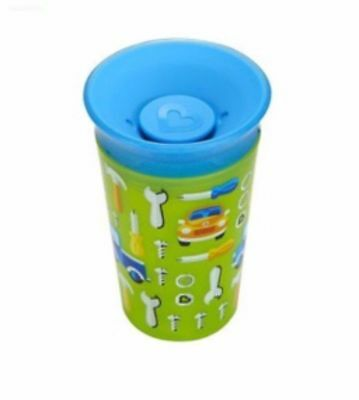 Munchkin Miracle 360 Degrees Deco Sippy Cup, 9 oz/266 ml, Green CAR Tools