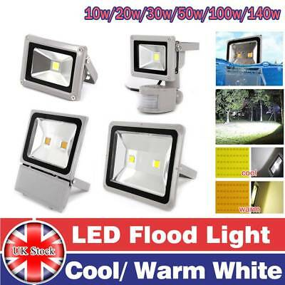 LED Floodlight 10W/20W/30W/50W/100W/140W PIR Motion Sensor Security Outdoor IP65