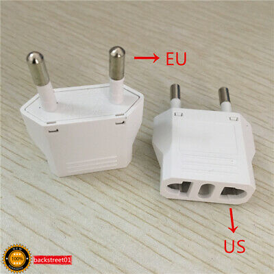 1PCS Electrical Universal Travel Charger Wall Plug Adapter Converter US to EU
