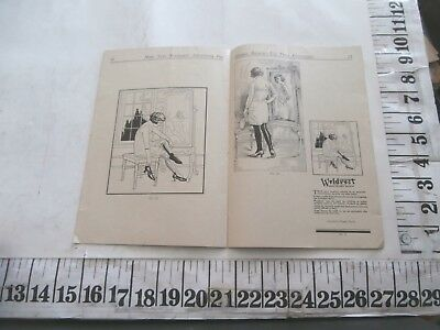 1920s WELDREST HOSIERY STOCKING NEWSPAPER ELECTROTYPE CUT CATALOG