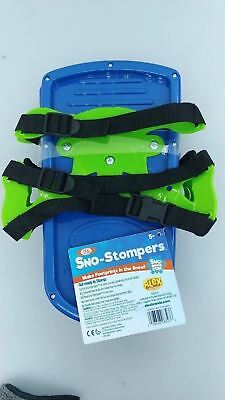 IDEAL Dinosaur Sand Sno Stompers  - Blue/Green -