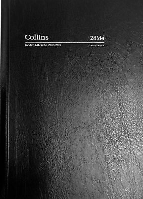 Diary 2018/2019 Financial Year Collins A5 2-Days to Page Black 28M4 14.9x21cm