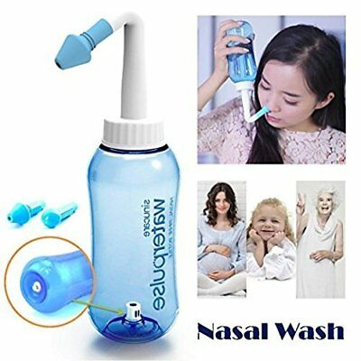Nose Neti Pot Nose Washer Nasal Rinsing Nose Cleaner System Neti Pot 300ml Bottl