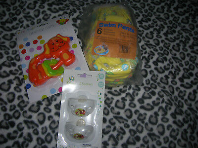 6 Swim Pants for Baby (pampers nappies)+other accessories Unisex
