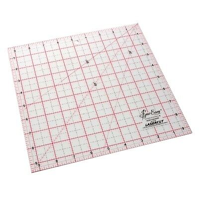 """SEW EASY 9.5"""" x 9.5"""" SQUARE TEMPLATE RULER PATCHWORK QUILTING BRAND NEW"""