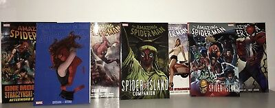 *BRAND NEW* Amazing Spider-man Collection Lot of 10 Hardcover & TP