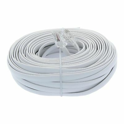 RJ11 Modular Telephone Extension ADSL DSL Router Phone Cord Cable Line Wire lead
