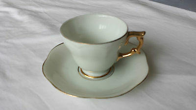 FINE CHINA TEA SET (6 x cups,6 x saucers)  (Not complete set)  Made in Japan