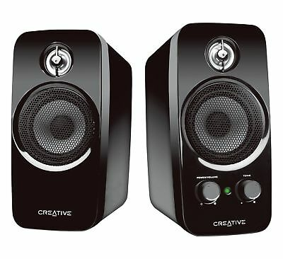 Creative IN-T10-R3 Inspire T10 2.0 Multimedia Speaker System with BasXPor... New