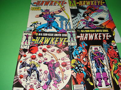 Miniseries HAWKEYE edition americana-4 numbers 1983 good condition