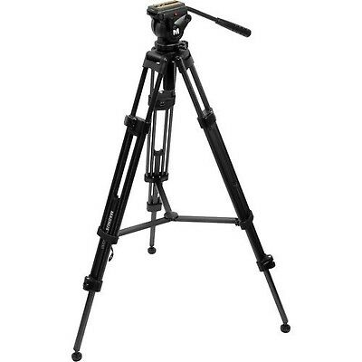 Magnus VT-4000 Professional High Performance Tripod System with Fluid Head New