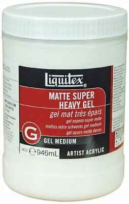 Professional Matte Super Heavy Gel Medium, 5832