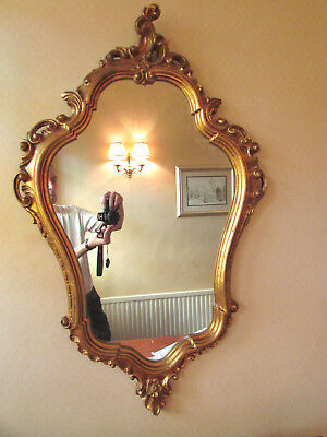 Gilt framed Mirror - Lovely Decorative Mirror. Great Size
