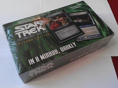 Star Trek ccg In a Mirror Darkly IAMD sealed booster box