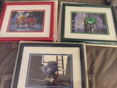 Brand New In package Classic M&M Framed Candy pictures Never been opened