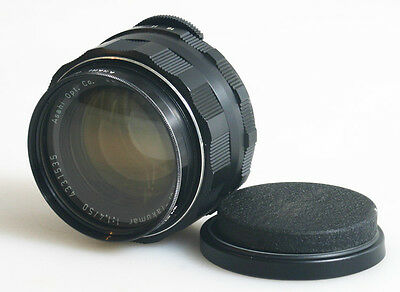 50Mm F/1.4 M42 Screw Mount Lens With Uv Filter And Front And Rear Caps