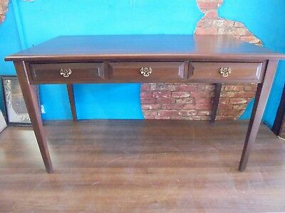 mahogany antique style desk or library table, desk, office table,/desk.