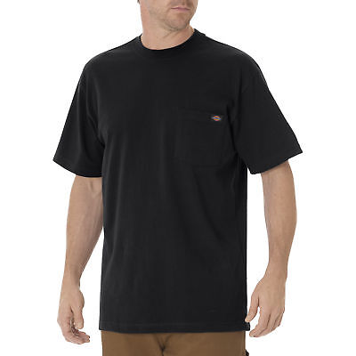 Dickies Men's Short Sleeve Pocket T-Shirt, Black