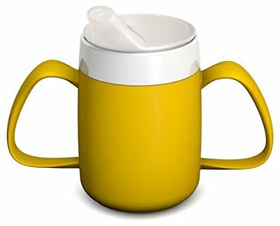 Two Handled Mug With Internal Cone 140 Mlwith Spouted Lid | Ergonomic Feeding Cu