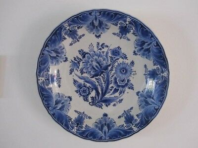 Antique Delft 16 inch Charger (De Porceleyne Fles) 1949