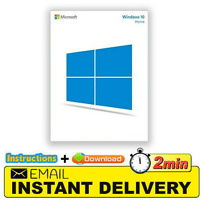 Original Windows 10 Home 32/64 Bit Genuine License Esd Product Key Code