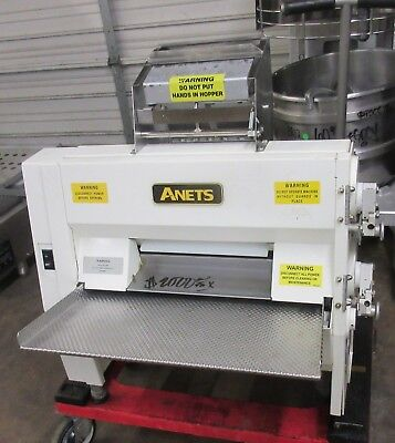 Anets SDR-21 Double Pass Countertop Dough Roller Sheeter