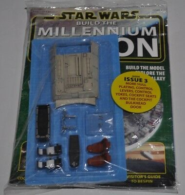Star Wars Issues 3 Build The Millennium Falcon Magazines & Parts Deagostini