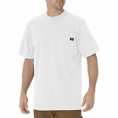Dickies Men's Short Sleeve Pocket T-Shirt, White