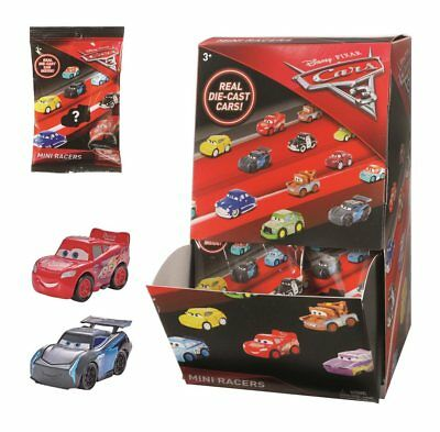 Disney Pixar Cars 3 Mini Racers  Choose From The List Mcqeen  Mater  Hudson Etc