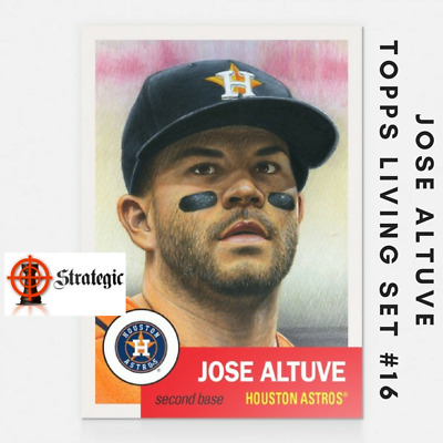 2018 Topps Living Set Jose Altuve #16 Houston Astros MVP