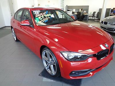 2016 BMW 3-Series 320xi New 2016 BMW 320xi AWD Premium Package Heated Seats Auto Climate Control Red