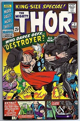 Thor King-Size Special #2 Near Mint (9.2) 1994 J.C. Penney Reprint
