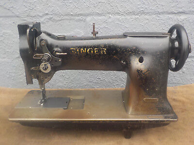 Industrial Sewing Machine Singer 111W101-Walking foot-Leather