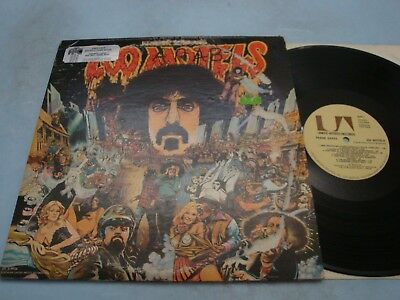 Frank Zappa 200 Motels dbl LP NM UAS-9956 1971
