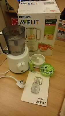 Philips AVENT combined baby food steamer and blender food processor