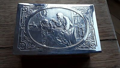 Antique Silver Plated Trinket Box