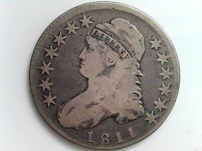 1811 50C - Capped Bust Half Dollar