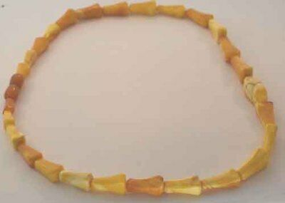 Vintage Baltic Butterscotch Amber Bead Necklace