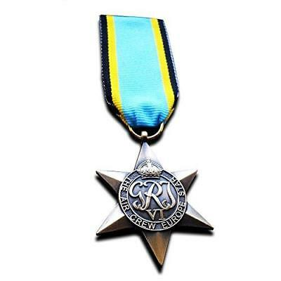 Air Crew Europe Star ww2 Military Medal British Commonwealth Operational Flying